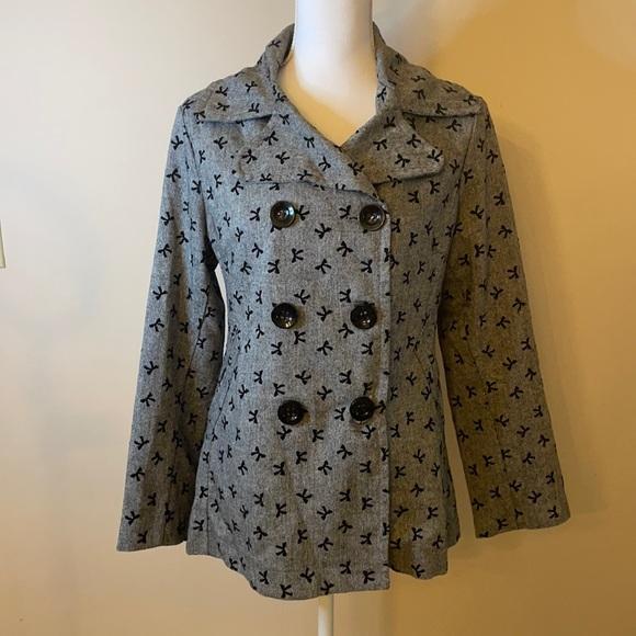 Knit  Trendy Pea Coat